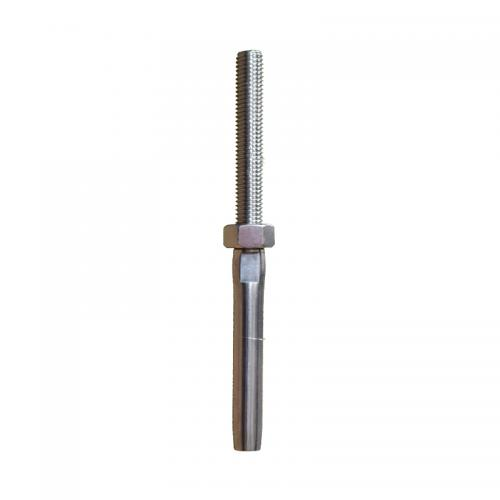 Stainless Steel Swage Stud Terminal (Left Hand Thread)